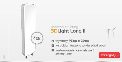 Kaseton świetlny 3DLight Long II