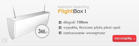 Kaseton świetlny FlightBox I