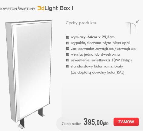 kasetony świetlne - 3dlight box I
